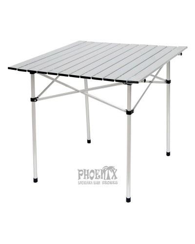 Τραπέζι Πτυσσόμενο Αλουμινίου 70Χ70εκ.