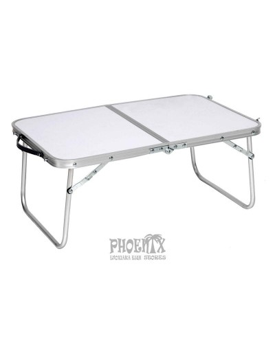Τραπέζι Πτυσσόμενο Αλουμινίου Χαμηλό 60Χ40εκ.