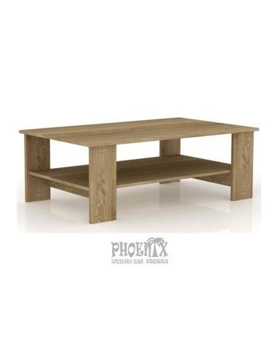 Τραπέζι Σαλονιού Ξύλινο 100Χ50Χ45εκ