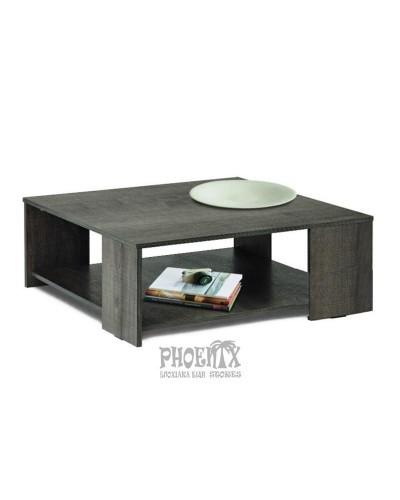 Τραπέζι Σαλονιού Ξύλινο 100Χ100Χ50εκ
