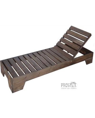 2674  Ξαπλώστρα ξύλινη ΚΑΡΥΔΙ