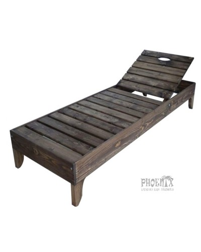 2675 Ξαπλώστρα ξύλινη ΚΑΡΥΔΙ