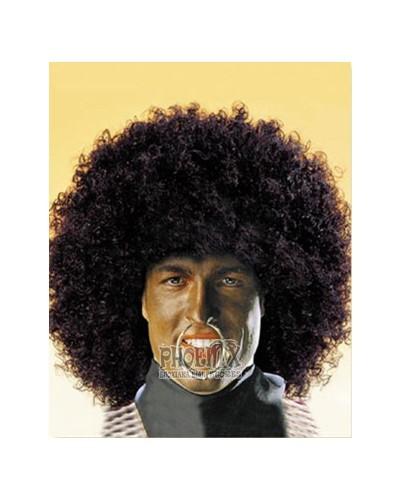 Αποκριάτικη Περούκα Άφρο μαύρη