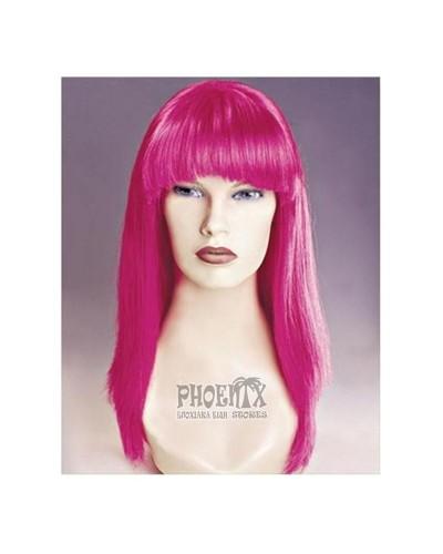 Αποκριάτικη περούκα κόκκινη ίσια Παρίσι