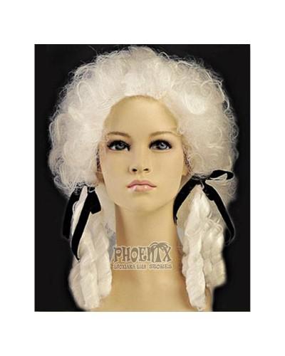 Αποκριάτικη Περούκα Κόμισσα Λευκή