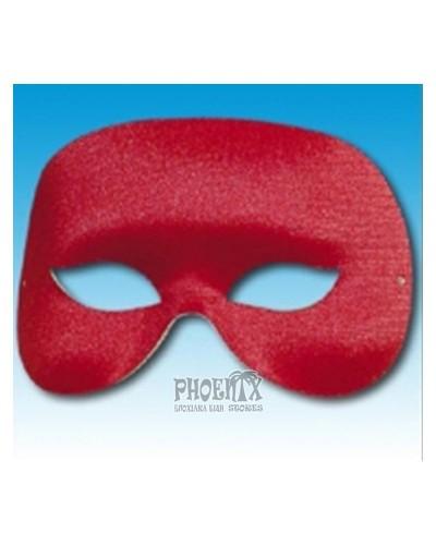 Αποκριάτικη Μάσκα Ματιών Κόκκινη