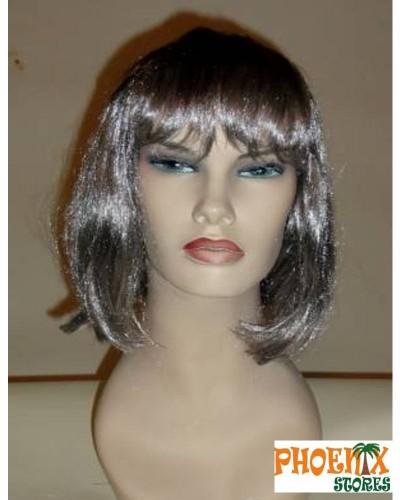 3561  Αποκριάτικη περούκα μελαχρινή.