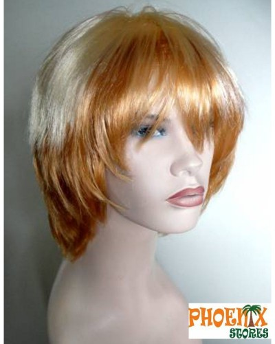 3565  Αποκριάτικη περούκα δίχρωμη ξανθιά