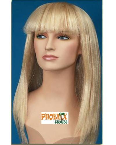 3576 Αποκριάτικη περούκα με αφέλειες