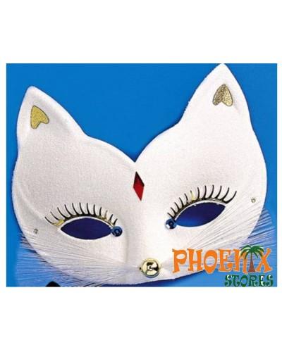 377    Αποκριάτικη μάσκα υφασμάτινη γάτα