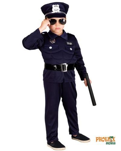 3869  Αποκριάτικη στολή Μυώδης αστυνομικός