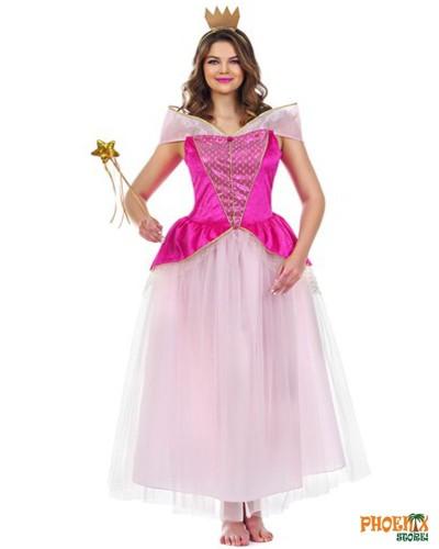 3909  Αποκριάτικη στολή   Ρόζ Πριγκίπσσα Νο. Μ