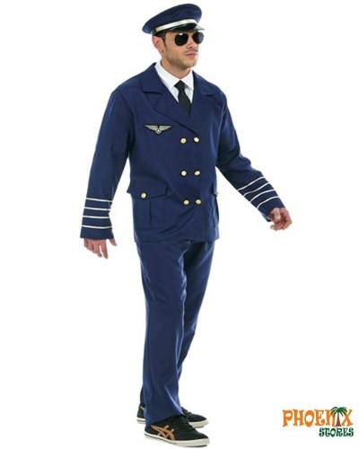 3911  Αποκριάτικη στολή Πιλότος