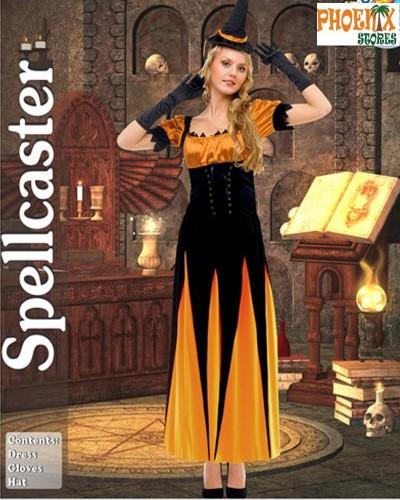 3931  Αποκριάτικη στολή Spellcaster Witch No. M