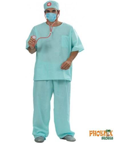 4011 Αποκριάτικη στολή γιατρός
