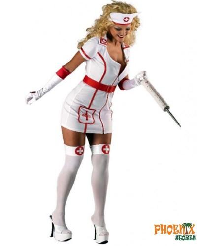 4012 Αποκριάτικη στολή νοσοκόμας