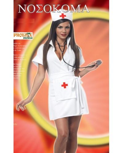 4013 Αποκριάτικη στολή νοσοκόμας