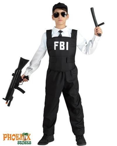 3629  Αποκριάτικη στολή FBI