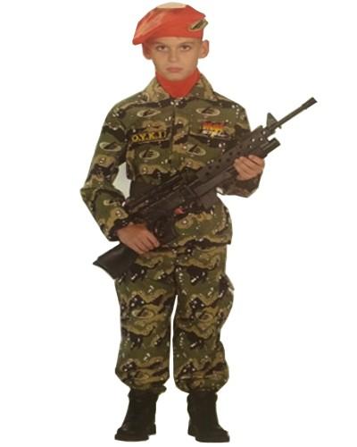 4110 Αποκριάτικη στολή  ΚΟΜΑΝΤΟ  Ο.Υ.Κ