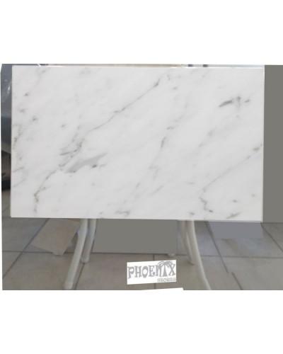 4193   Τραπέζι wersalit 120χ65 εκ χρώμ. σκούρος γρανίτης