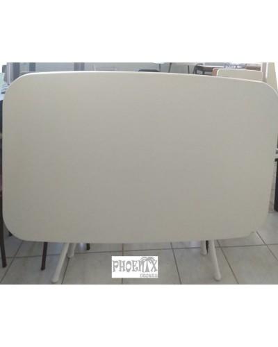 4199   Τραπέζι wersalit 120χ70 εκ χρώμ. λευκό