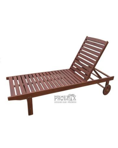 2677 Ξαπλώστρα ξύλινη ΚΑΡΥΔΙ