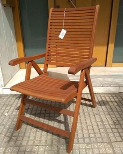 2795 Καρέκλα  ξύλινη ψηλή πλάτη .