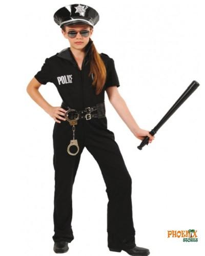 493  Αποκριάτικη στολή Wild Police Girl