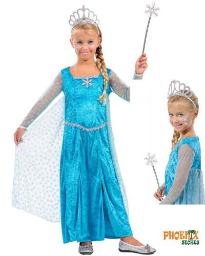 3841  Αποκριάτικη στολή Ice Queen.