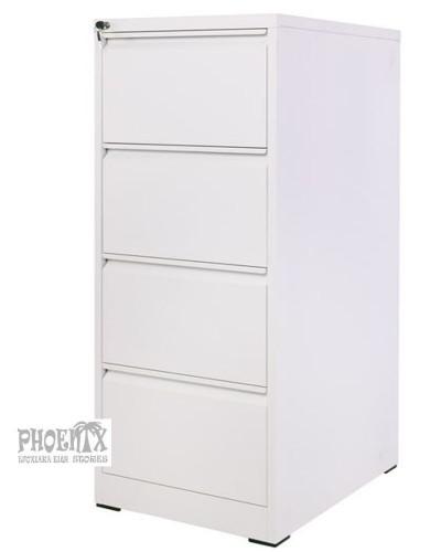 4667 Συρταριέρα  μεταλλική 46x62x133cm