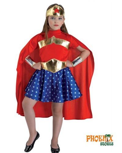 4690  Αποκριάτικη στολή Σούπερ Κορίτσι