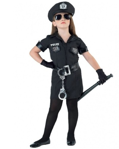 2256  Αποκριάτικη στολή Police με αξεσουάρ.