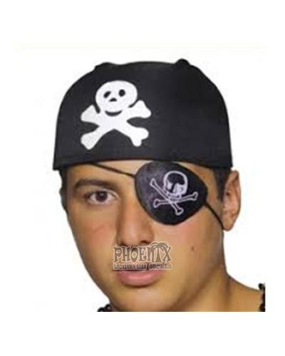 528 Αποκριάτικο καπέλο πειρατή