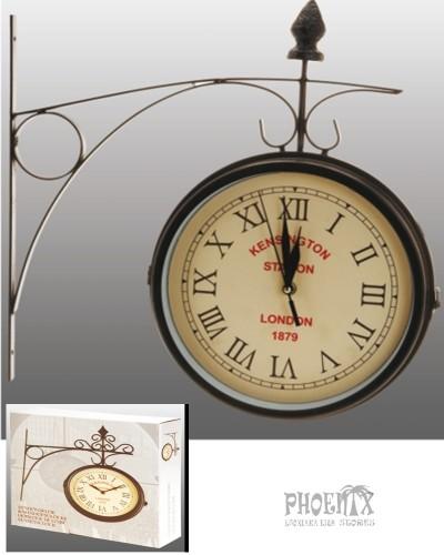 1184 Ρολόι τοίχου διπλής όψεως