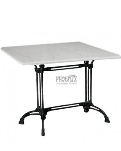 2480  Τραπέζι με μάρμαρο Φ 60εκ