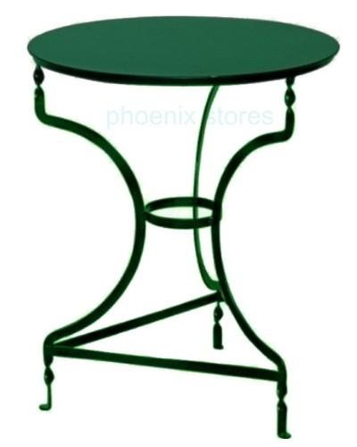1850 Τραπέζι Καφενείου Μεταλλικό Κυπαρισσί Φ60εκ
