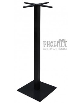 5636 Βάση Τραπεζιού BAR 45x45cm H.108cm Μέταλλο Βαφή Μαύρο / 14,50Kg