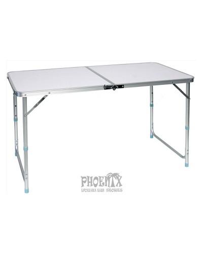 Τραπέζι Πτυσσόμενο Αλουμινίου 120Χ60εκ.