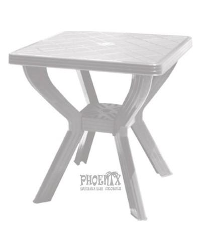 776 Τραπέζι Πλαστικό Τετράγωνο 70χ70εκ