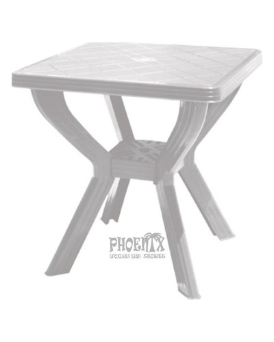 Τραπέζι Πλαστικό Τετράγωνο 70Χ70