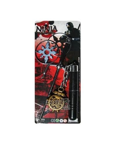 Αποκριάτικο σπαθί Ninja Σετ4