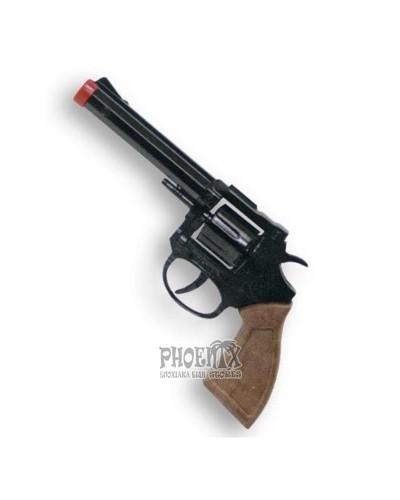 1397 Αποκριάτικο Όπλο 8σφαιρο μεταλλικό 22,5Χ8 εκ.