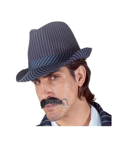 1424  Αποκριάτικο Καπέλο Μαφίας