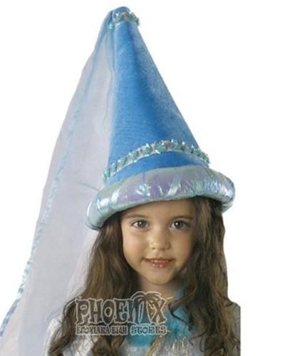 531 Αποκριάτικο καπέλο πριγκίπισσας
