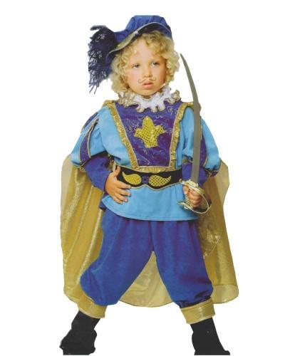 491 Αποκριάτικη στολή γαλάζιος πρίγκιπας για αγόρια