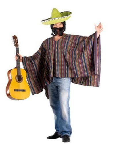 2299 Αποκριάτικη Στολή Μεξικάνου